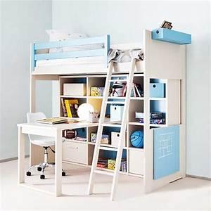 Kinderzimmer Mit Schreibtisch : ikea kinderzimmer hochbett ~ Michelbontemps.com Haus und Dekorationen