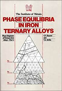 Phase Equilibria In Iron Ternary Alloys  Phase Diagrams Of