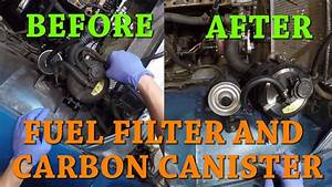 Datsun 280z Ep 19 Replacing The Fuel Filter And Carbon Canister Filter