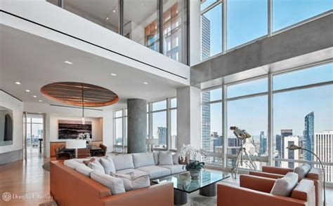 million duplex penthouse   york city floor