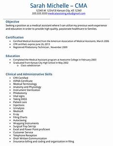 download medical assistant resume sample for free With medical assistant resume templates downloads