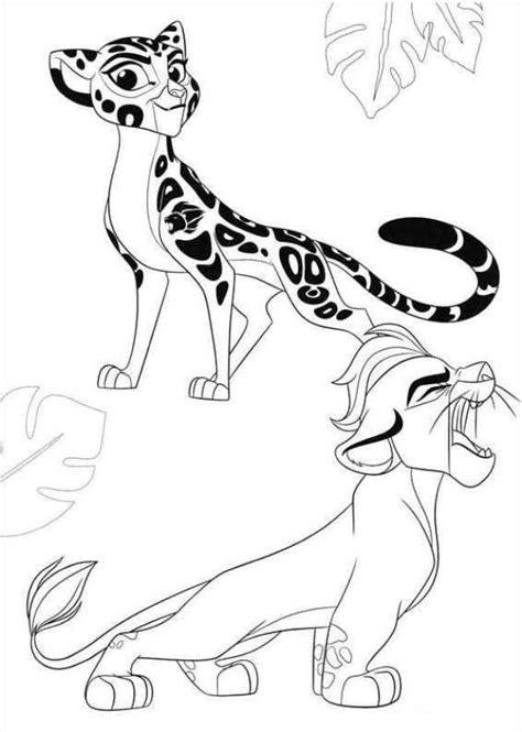 kids  funcom coloring page lion guard fuli kion