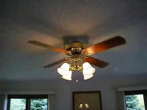 hunter eastern shore ceiling fan delta ii it ceiling fan youtube