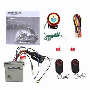 Dropshipping For Steelmate 986e Autocycle Alarm System To