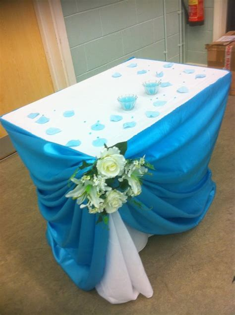 doris decoration and cakes turquoise wedding decoration