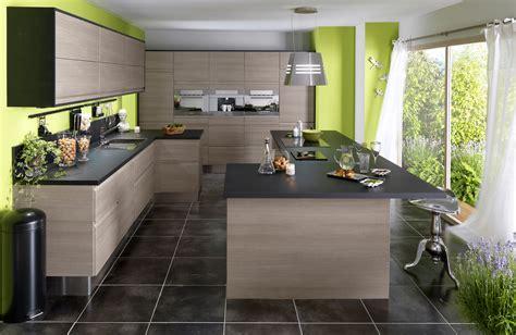 chambre gris et vert cuisine en bois un matériau plusieurs styles