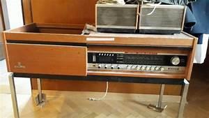 Gramofon Dual 1210 Malo Rabljen V Skrinji Z Radiom Grundig