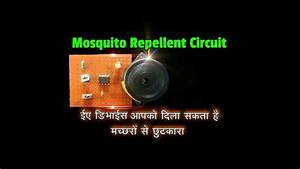 How To Make Electronic Mosquito Repellent Circuit Using