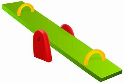 Seesaw Clipart Clip Saw Playground Slide Map