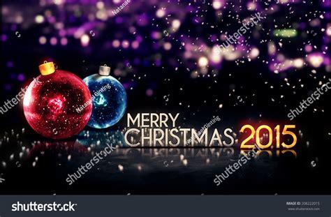 merry christmas 2015 bokeh beautiful 3d purple background 208222015
