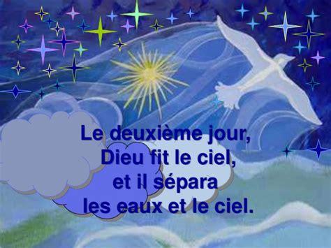 La Creation by Diaporama La Cr 233 Ation Du Monde