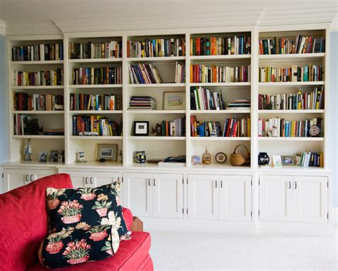 Home Office Bookcases by Painted Bookcase Traditional Home Office Charleston