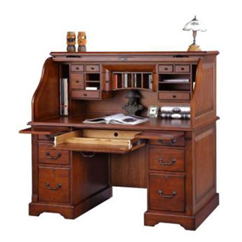 cheap roll top desk winners only k157r country cherry 57 inch roll top desk