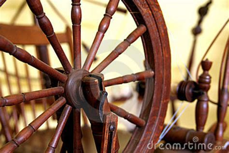 antique spinning machine stock image image  cotton
