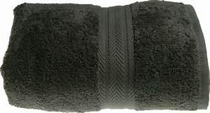 Drap De Bain 100x150 : drap de bain 100 x 150 cm en coton couleur anthracite anthracite homemaison vente en ligne ~ Teatrodelosmanantiales.com Idées de Décoration