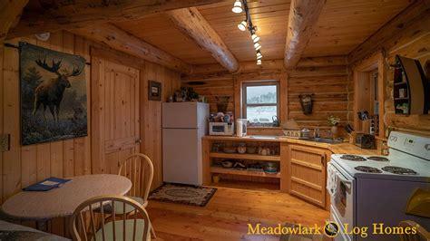 retreat cabin  meadowlark log homes