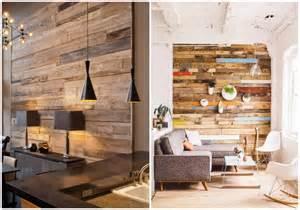foto  forrar una pared  madera reciclada de ecodeco