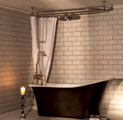 Free Standing Tub with Shower Bathroom