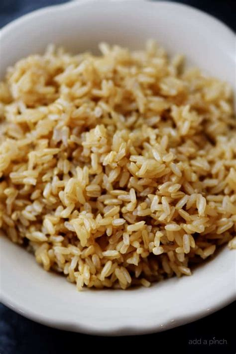 instant pot brown rice recipe add a pinch