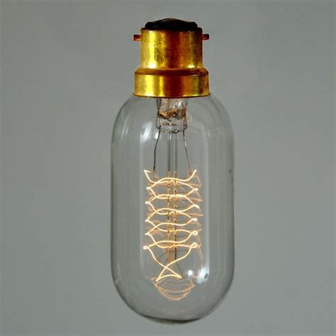 vintage filament edison light bulb