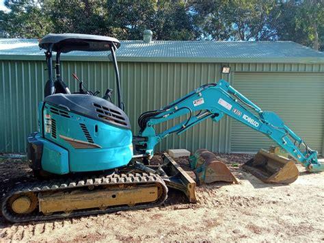 kobelco sksr  tonne excavator zelvi equipment