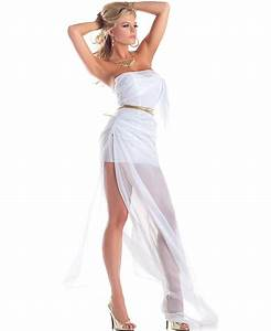 Lovely Aphrodite sexy adult costume includes a white ...