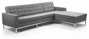 Kardiel midcentury modern florence right sectional cadet for Florence modern sectional sofa