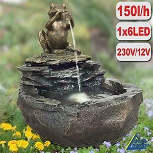 Garten brunnen kaskaden produkte von amur online for Französischer balkon mit solar für garten 230v