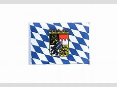 Mini Bavaria with crest Flag 4x6