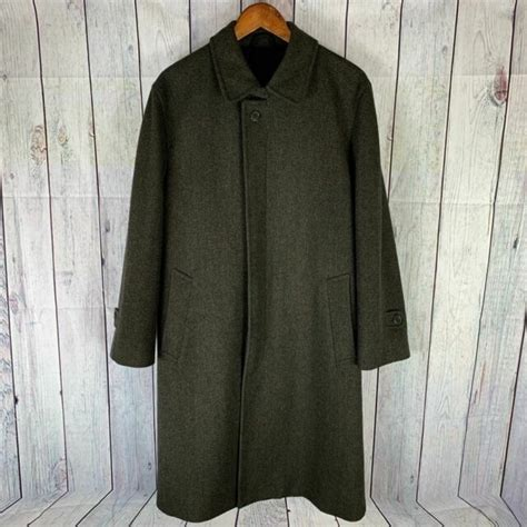 austin reed mens pure wool trench coat size  ebay