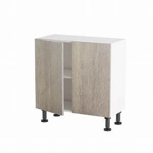 meuble cuisine bas petite profondeur 80cm 2 por achat With meuble bas cuisine petite profondeur
