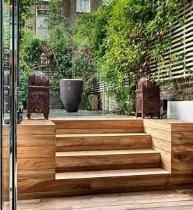 Escalier Extérieur En Bois : escalier ext rieur jardin pour un espace vert optimis ~ Dailycaller-alerts.com Idées de Décoration
