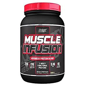 Amazon.com: Nutrex Research Muscle Infusion Protein Powder