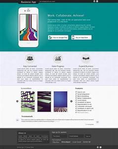 27 best html landing page templates free premium With landing page with video template