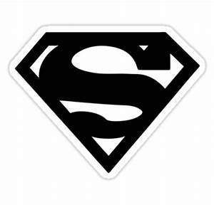 Superman Black And White | Clipart Panda - Free Clipart Images
