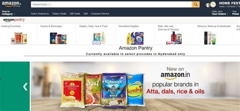 amazon launches amazon pantry grocery delivery services
