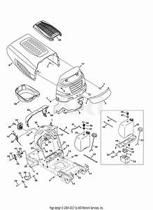 Mtd 13an775s000  2013  Parts Diagram For Hood  U0026 Grille