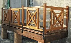 Garde Corps à Faire Soi Même : fabriquer une rambarde en croix de saint andr ~ Premium-room.com Idées de Décoration