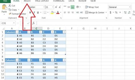 how to make a pivot table how to create a pivot table based on multiple tables in