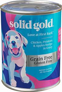 Solid gold love at first bark chicken potatoes apples for Solid gold wet dog food