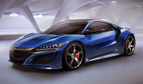 Acura Nsx R by Rendering Acura Nsx Type R