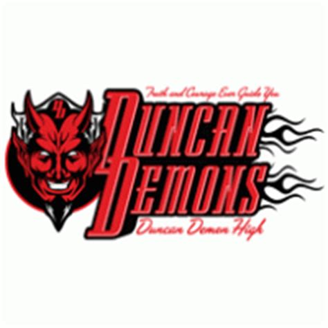 duncan demons logo vector ai