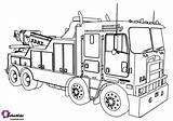 Truck Coloring Fire Cartoon Printable Monster Engine Bubakids Train Trunk Teenage sketch template