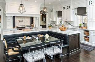 l shaped kitchen island beautiful kitchen islands with bench seating designing idea