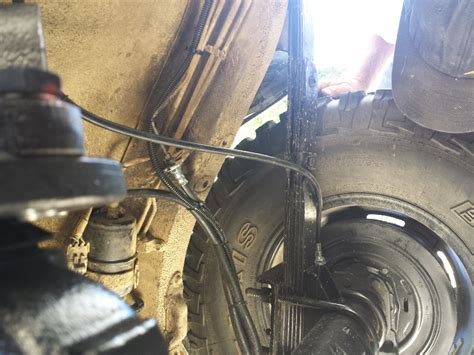 brake cable routing jeep cherokee forum