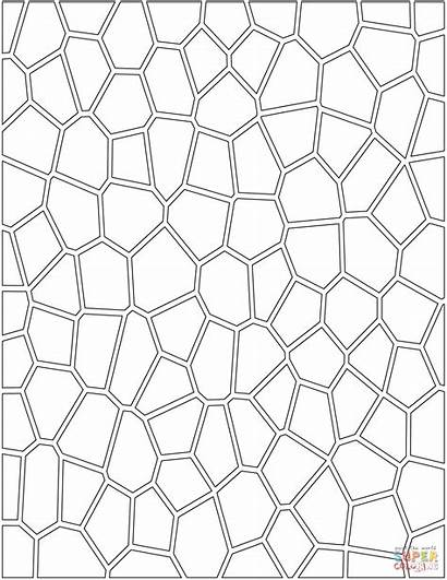 Coloring Pattern Mosaic Pages Printable Paper Categories