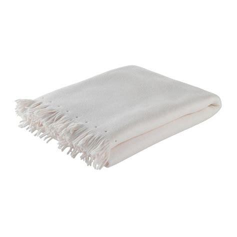 Ikea Decke Weiß ikea tagesdecke 130 x 170 cm plaid decke polarvide wei 223 ebay