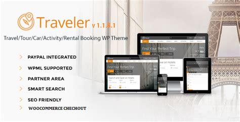Travel/tour/booking Wordpress Theme V.1.1.8.1