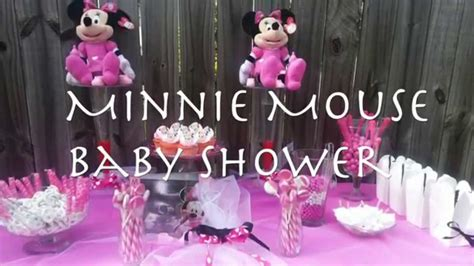 minnie mouse baby shower decorations ideas minnie mouse themed baby shower