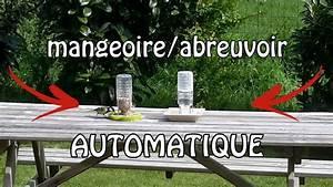 Abreuvoir A Oiseaux Pour Jardin : cr er un abreuvoir mangeoire oiseaux automatique youtube ~ Melissatoandfro.com Idées de Décoration